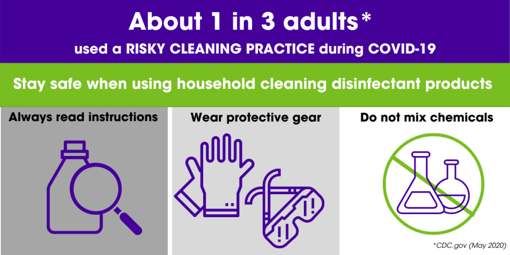 how to safely clean