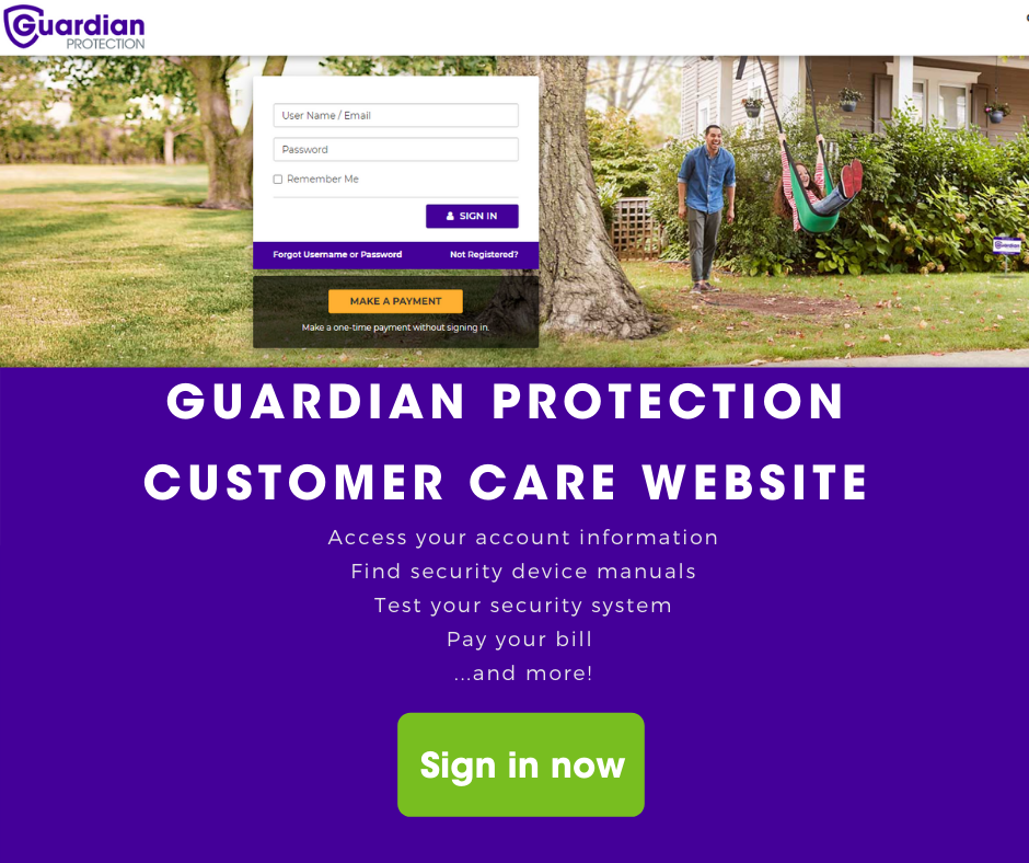 go to Guardian customer care site