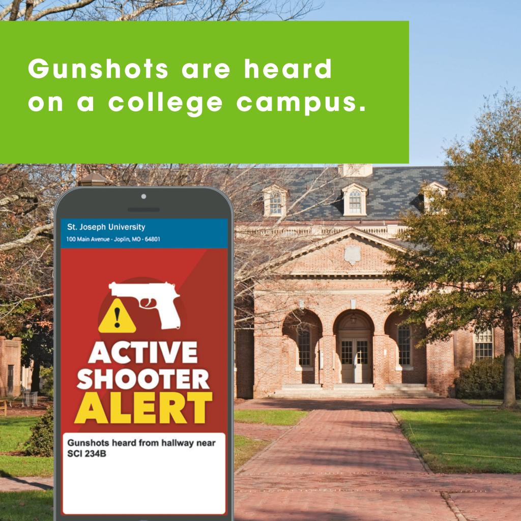 shooter alert college