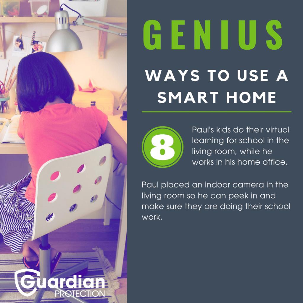 smart home indoor camera