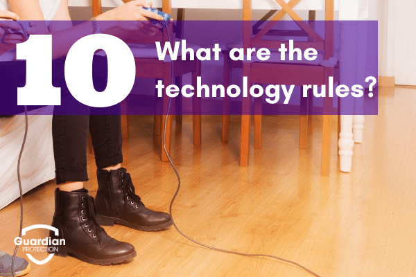 kids technology rules