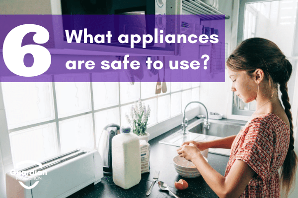 what appliances are safe to use